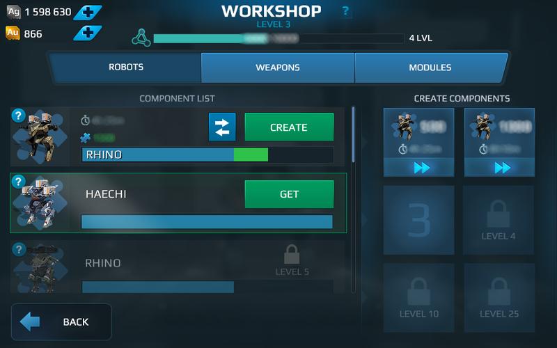 Next in War Robots  Workshop 2 0 and more - War Robots