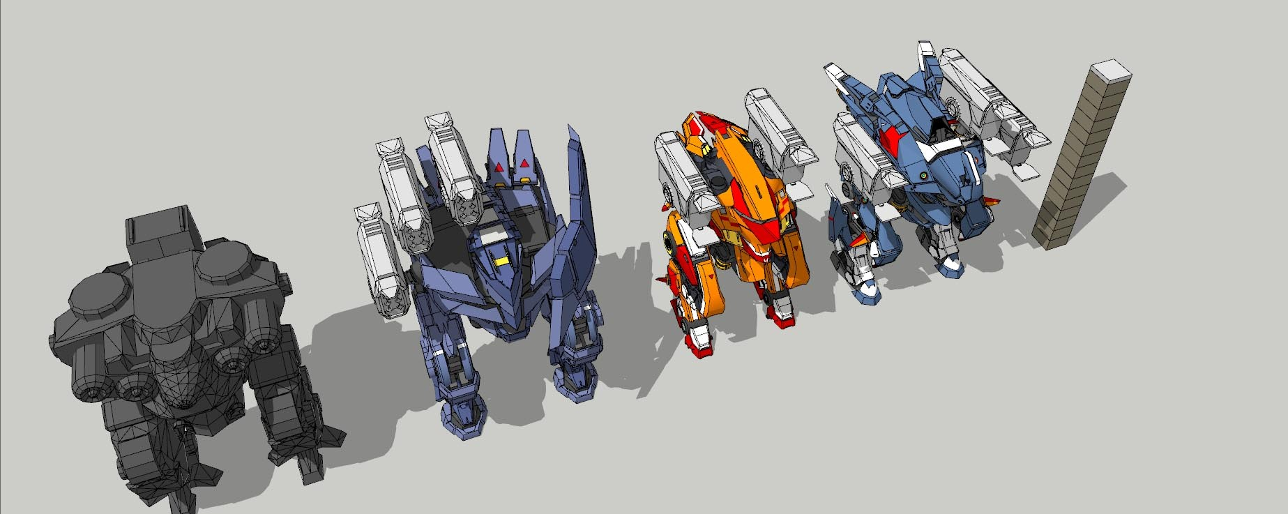 Dash bots
