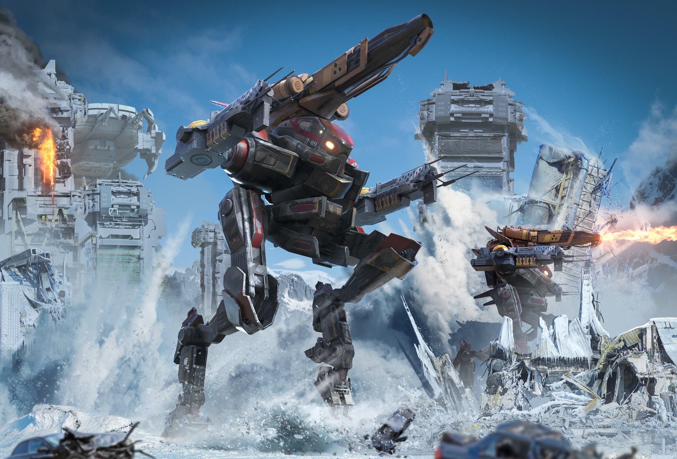 New matchmaking war robots