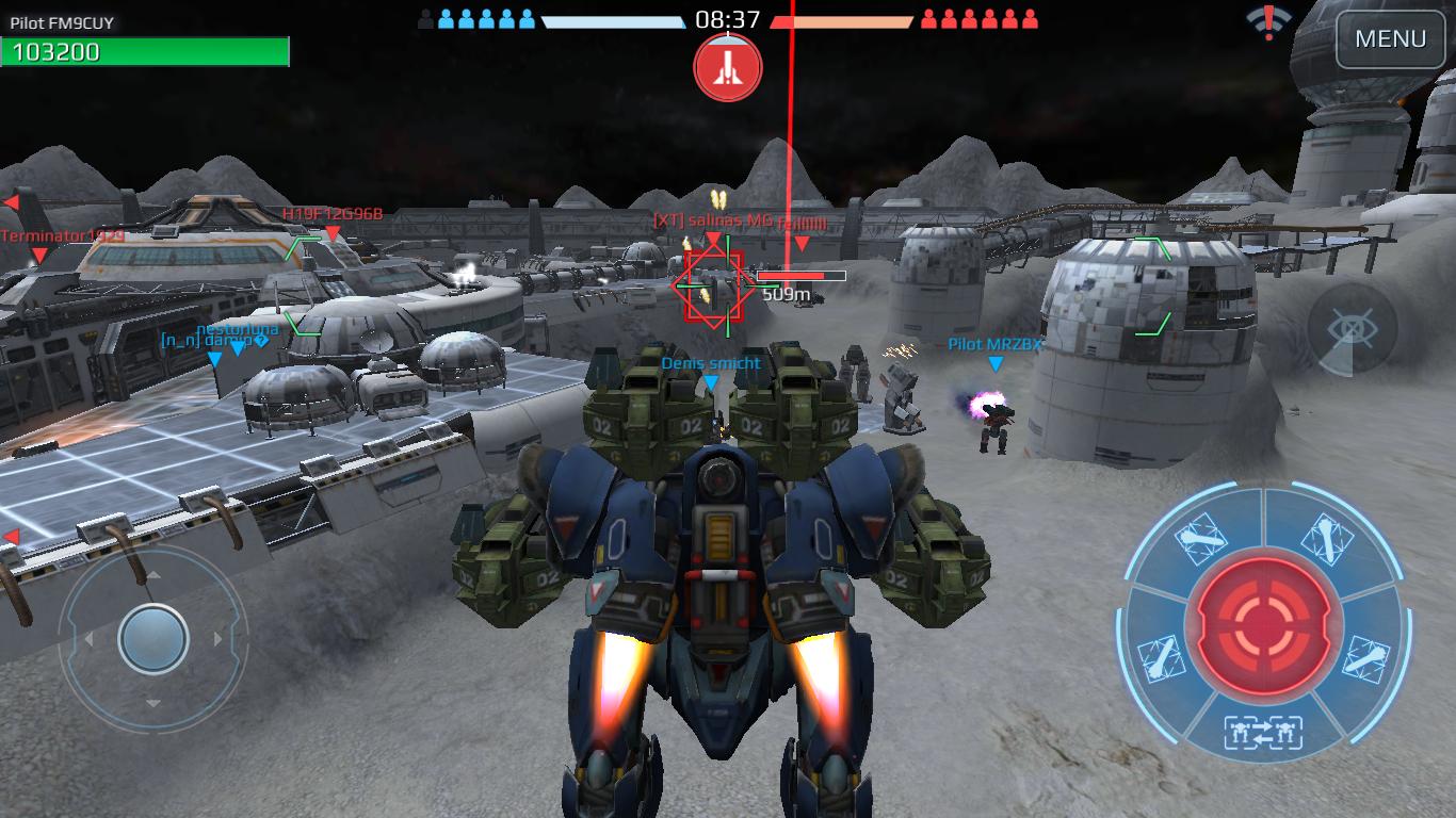 3 6] Ghostbusting: Slaying Spectres - War Robots