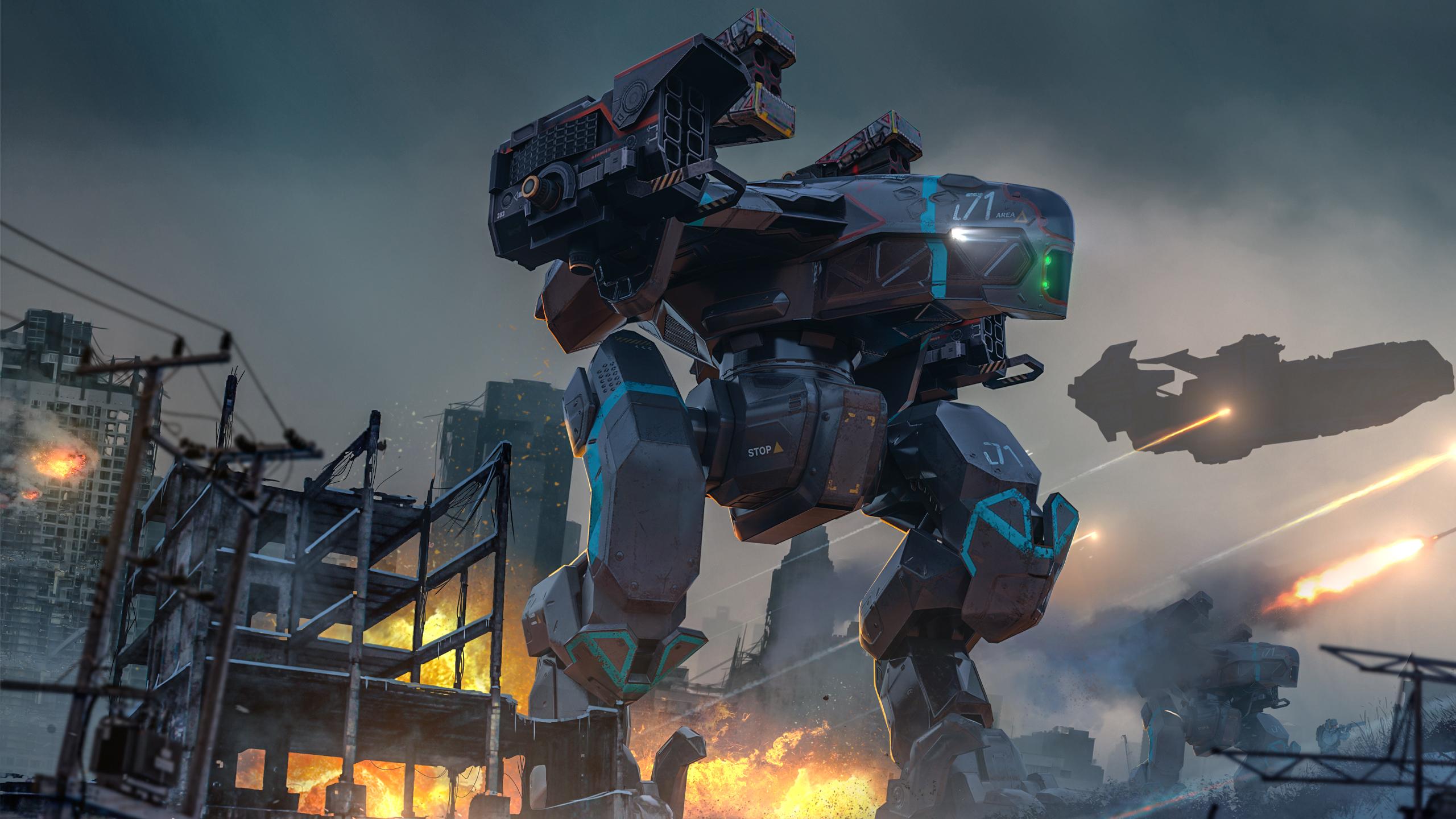 Raven War Robots